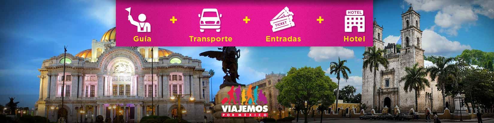 Paquetes Mérida hasta 9 días de viaje