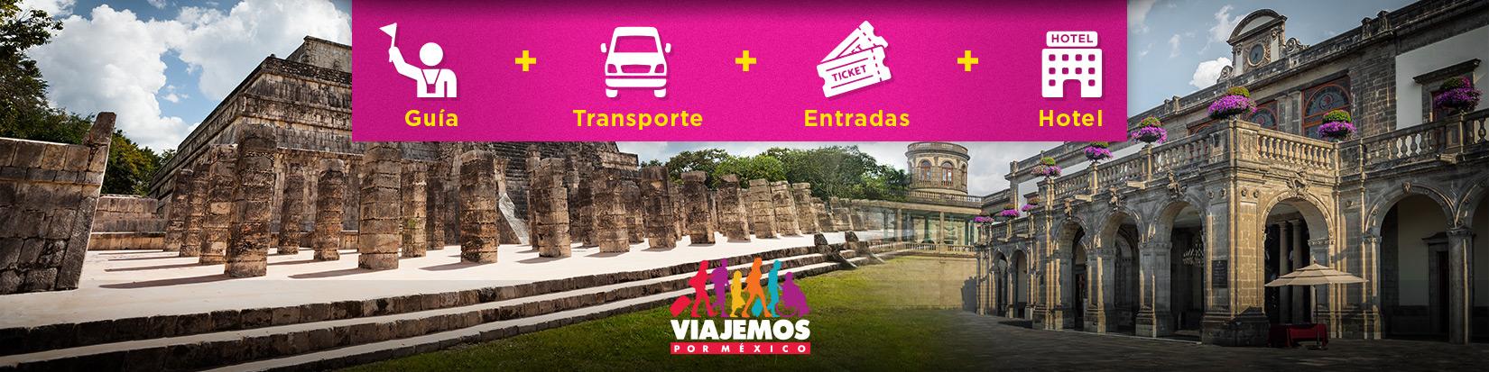 Ruta Aztecas y Mayas hasta 18 Días de Viaje