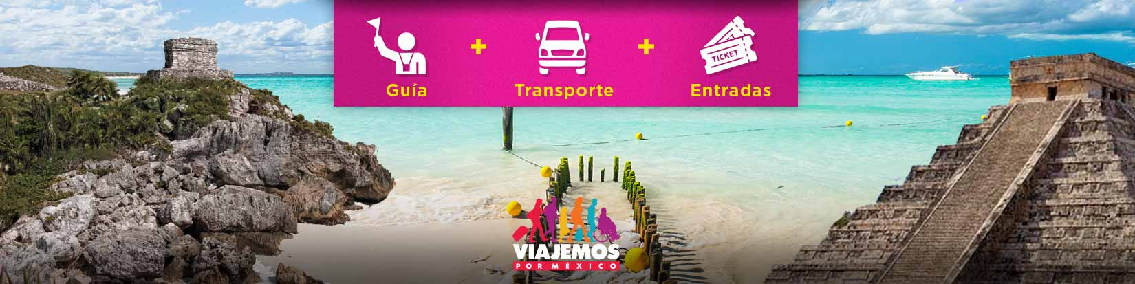 Tours / Excursiones en Cancún y Riviera de hasta 10 hrs