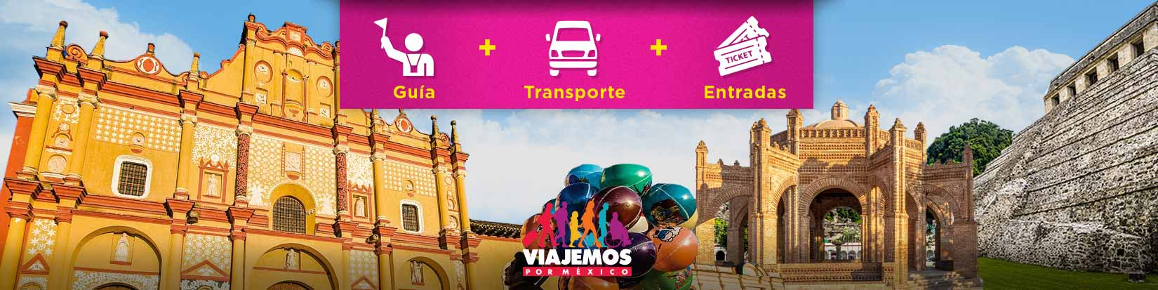 Tours / Excursiones en Chiapas de hasta 10 hrs