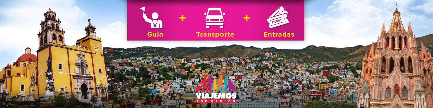 Tours / Excursiones en Guanajuato de hasta 10 hrs