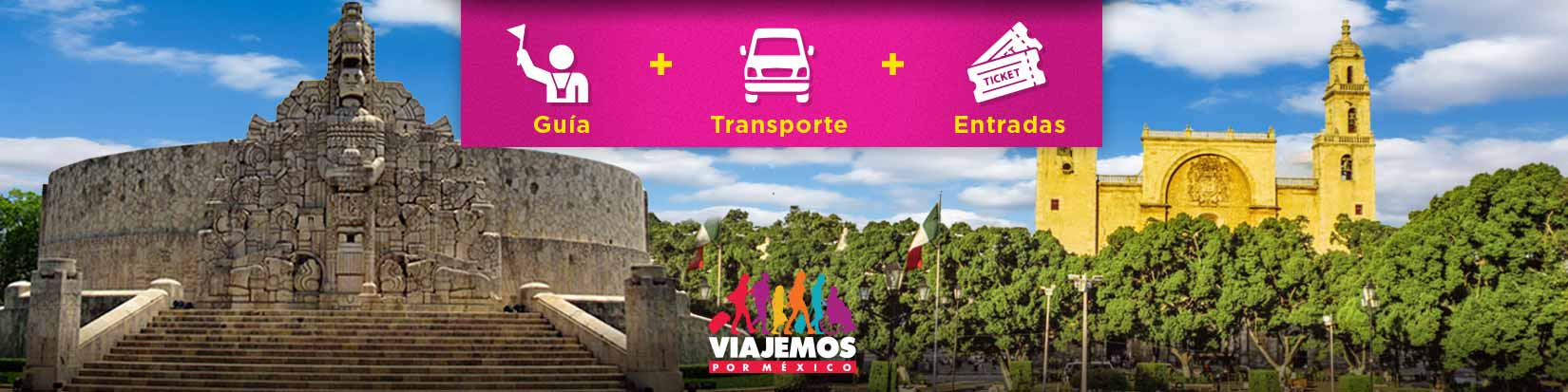Tours / Excursiones en Mérida de hasta 10 hrs