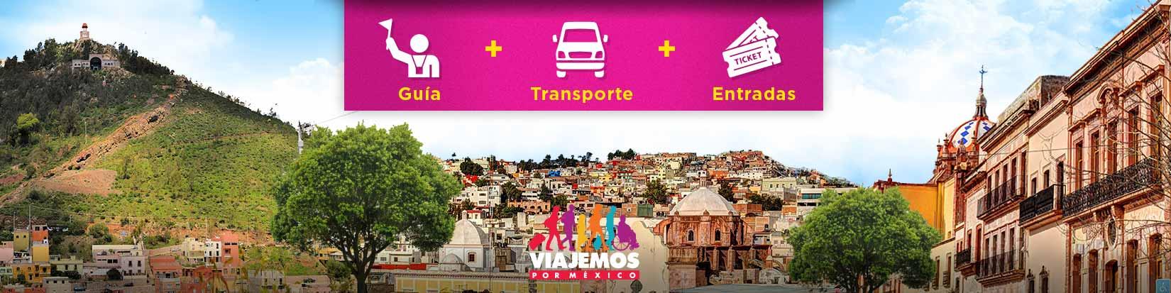 Tours / Excursiones en Zacatecas de hasta 10 hrs