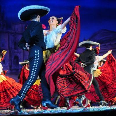 Función del Ballet Folklórico de Bellas Artes en la Cd. de México. Incluye transportación redonda desde su hotel en Zona Centro Cd. de México