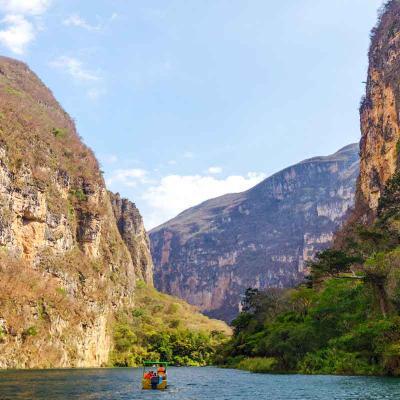 Tour de un día al Cañón del Sumidero desde Tuxtla Gutiérrez