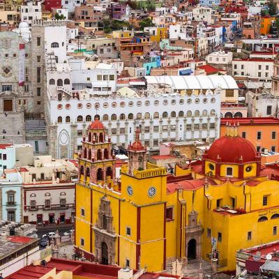 Tour de medio día en la Ciudad de Guanajuato visitando Túneles, Mina la Valenciana, Museo de la Inquisición y más