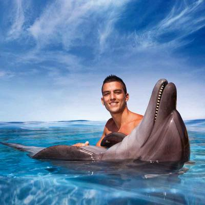 Dolphin Swim and Ride Cancún