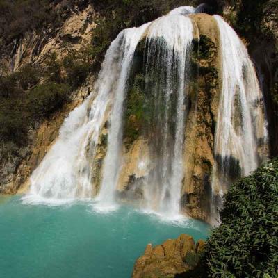 Tour combinado de un día a Lagos Montebello y Cascadas de El Chiflón desde San Cristóbal