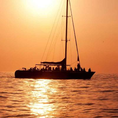 Luxury Sunset Sailing desde Cancún