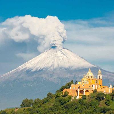 Excursión a Paso de Cortés y Popocatepetl incluye visita al Volcán Cuexcomate