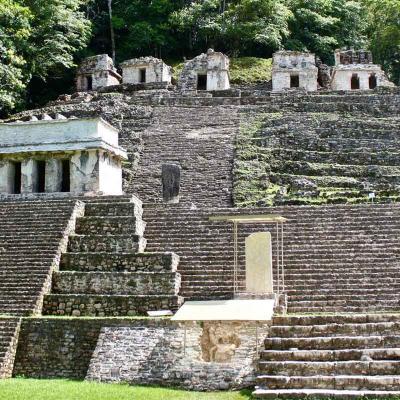 Tour de un día a Zonas Arqueológicas de Yaxchilán y Bonampak desde Palenque