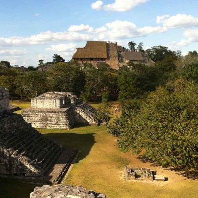 Ek Balam + Cenote Maya