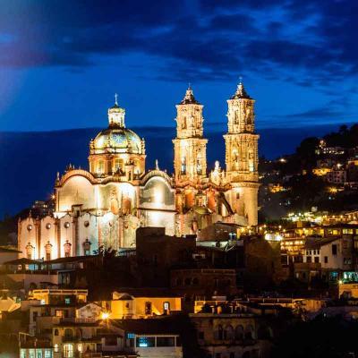 Excursión a la Ciudades de Cuernavaca y Taxco con regreso al día siguiente. No incluye alojamiento