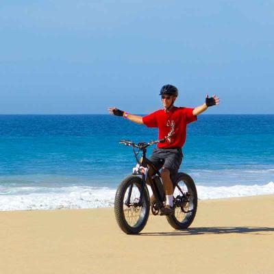 E-Bike Beach Adventure
