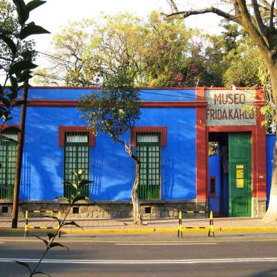 Tour de un día a Xochimilco, Barrio de Coyoacán y Museo de Frida Kahlo desde la Ciudad de México