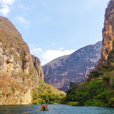 Tour Combinado de 9 días a Cd. de México y Chiapas: Teotihuacán, Cañón del Sumidero, Bonampak y más