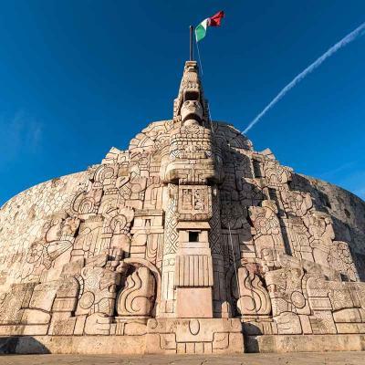 Tour Combinado de 5 días a Cd. de México, Mérida y Cancún