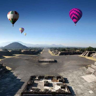 Tour Combinado de 7 días a Cd. de México, Mérida y Cancún