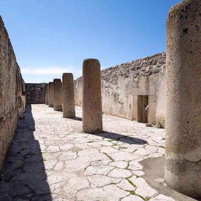 Excursión de medio día a la Zona Arqueológica de Mitla desde Oaxaca